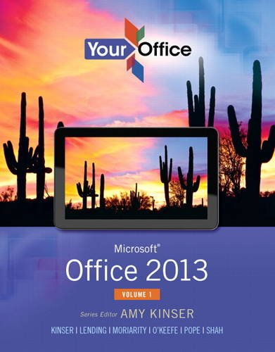 Your Office Microsoft Office 2013  2014 edition cover
