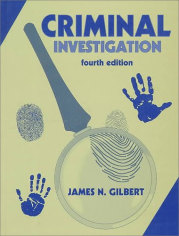 Criminal Investigation 4th 1998 9780137160693 Front Cover