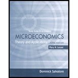 MICROECONOMICS:THEORY+APPL.-ST N/A edition cover