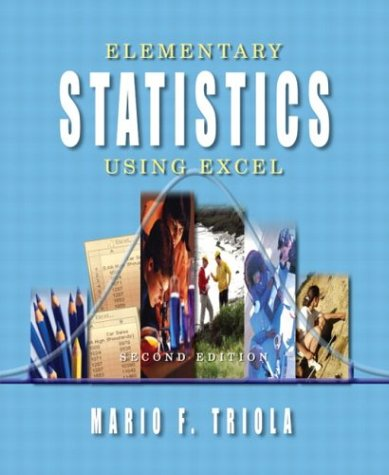 Elementary Statistics Using Excel  2nd 2004 (Revised) edition cover