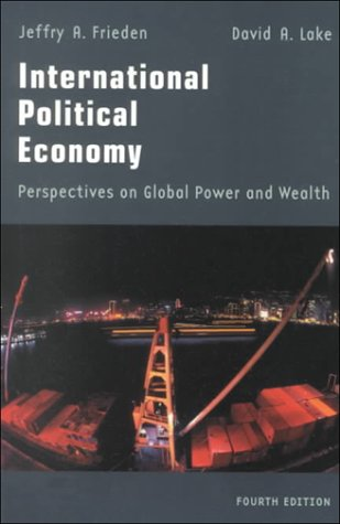 International Political Economy  4th 2000 (Revised) edition cover