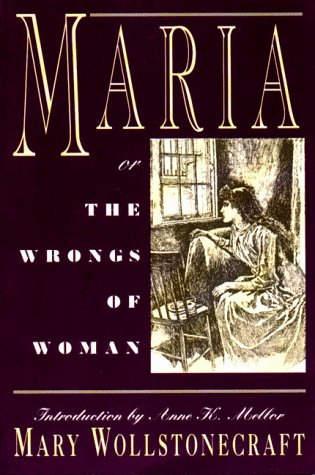 Maria Or the Wrongs of Woman  1994 edition cover