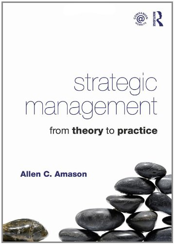 Strategic Management From Theory to Practice  2011 edition cover