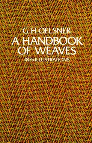 Handbook of Weaves 1875 Illustrations  1975 edition cover