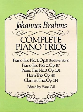 Complete Piano Trios  N/A 9780486257693 Front Cover