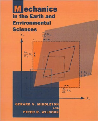 Mechanics in the Earth and Environmental Sciences   1994 edition cover