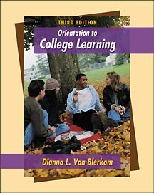 Orientation to College Learning  3rd 2002 9780534572693 Front Cover