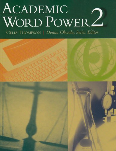 Academic Word Power 2   2004 edition cover