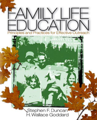 Family Life Education Principles and Practices for Effective Outreach  2005 edition cover