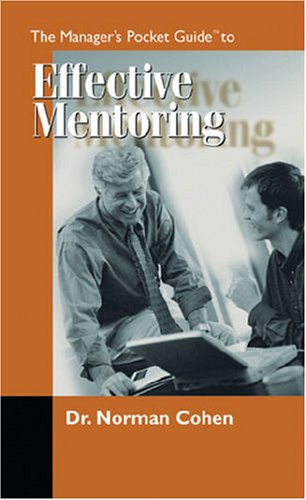 Manager's Pocket Guide to Effective Mentoring   1999 edition cover