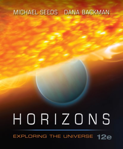 Horizons - Exploring the Universe  12th 2012 edition cover