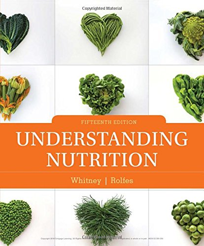 Understanding Nutrition:   2018 9781337392693 Front Cover