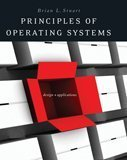 Principles of Operating Systems Design and Applications  2009 9781418837693 Front Cover