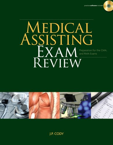 Medical Assisting Exam Review Preparation for the CMA and RMA Exams  2011 edition cover