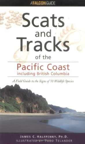 Pacific Coast States - Scats and Tracks  N/A 9781560448693 Front Cover