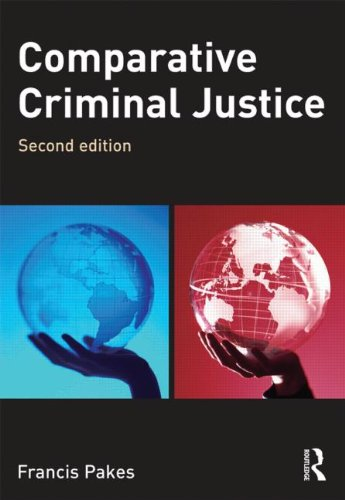 Comparative Criminal Justice  2nd 2010 (Revised) 9781843927693 Front Cover