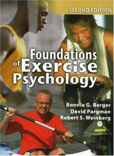 Foundations of Exercise Psychology, 2nd Edition  2nd 2007 edition cover