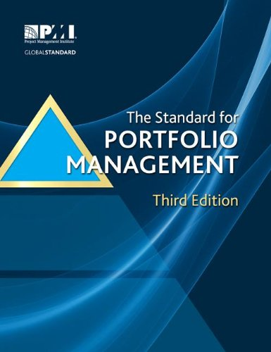 The Standard for Portfolio Management:   2013 edition cover