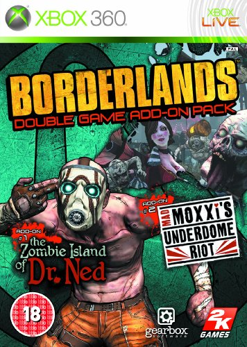 Borderlands Game Add on Pack /X360 Xbox 360 artwork
