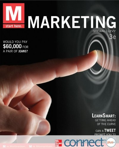 M: Marketing with Connect Plus  3rd 2013 edition cover