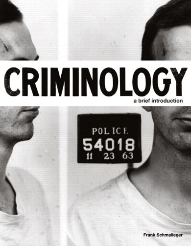 Criminology A Brief Introduction  2011 (Brief Edition) edition cover