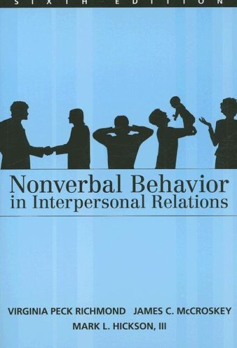 Nonverbal Behaviour in Interpersonal Relations  6th 2008 edition cover