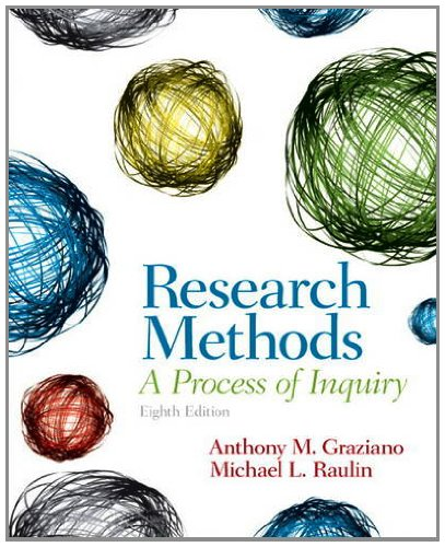 Research Methods A Process of Inquiry 8th 2013 (Revised) 9780205907694 Front Cover