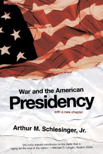 War and the American Presidency   2005 9780393327694 Front Cover
