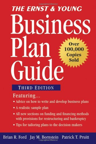 Ernst and Young Business Plan Guide  3rd 2007 (Revised) 9780470112694 Front Cover