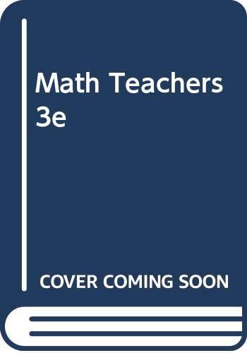 MATH.F/ELEMENTARY TEACHERS 3rd 1994 edition cover