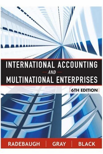 International Accounting and Multinational Enterprises  6th 2006 (Revised) 9780471652694 Front Cover
