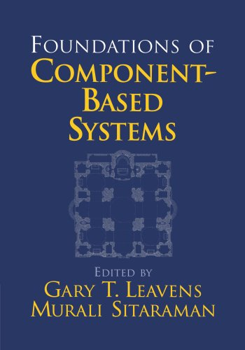Foundations of Component-Based Systems   2010 9780521155694 Front Cover
