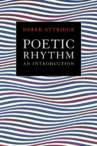 Poetic Rhythm An Introduction  1995 edition cover
