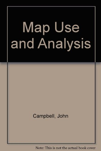 Map Use and Analysis 3rd 1998 edition cover