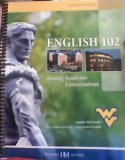 ENGLISH 102 >CUSTOM<           N/A 9780738052694 Front Cover