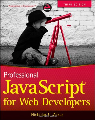 Professional JavaScript for Web Developers  3rd 2012 edition cover
