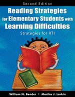Reading Strategies for Elementary Students with Learning Difficulties Strategies for RTI 2nd 2009 edition cover