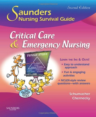 Critical Care and Emergency Nursing  2nd 2010 edition cover