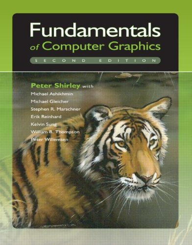 Fundamentals of Computer Graphics  2nd 2005 (Revised) edition cover