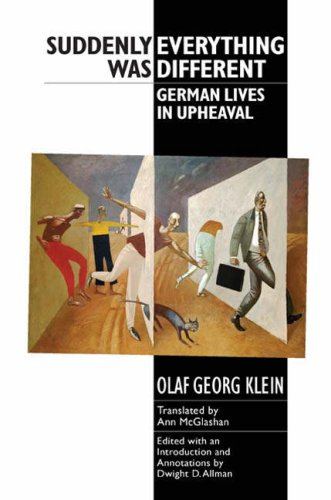 Suddenly Everything Was Different German Lives in Upheaval  2007 edition cover