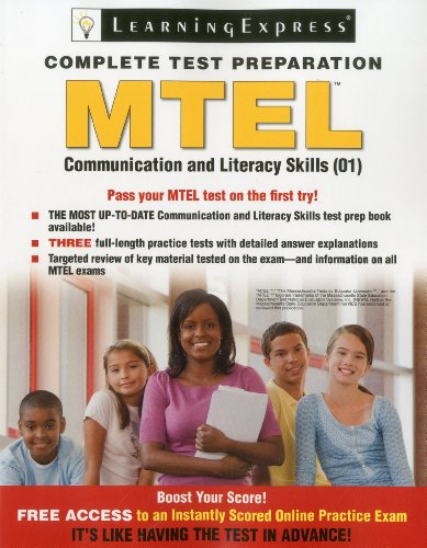 Mtel Communication and Literacy Skills (01) N/A edition cover
