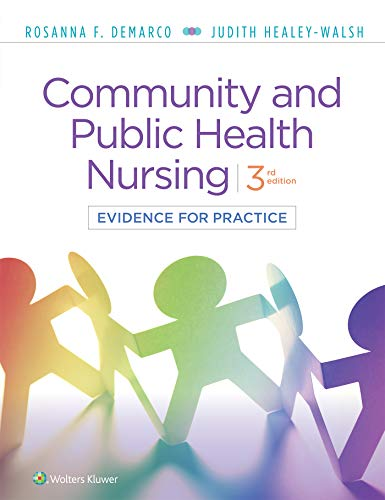 Community and Public Health Nursing Evidence for Practice 3rd 2020 (Revised) 9781975111694 Front Cover