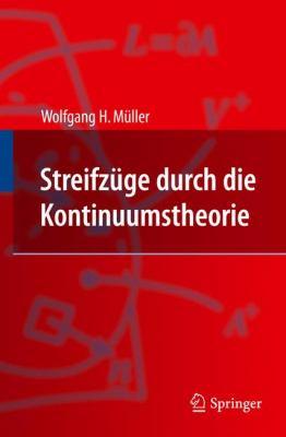 Streifz�ge Durch die Kontinuumstheorie   2011 edition cover