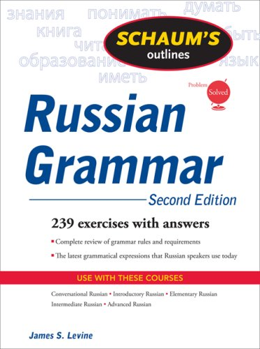 Russian Grammar  2nd 2009 edition cover