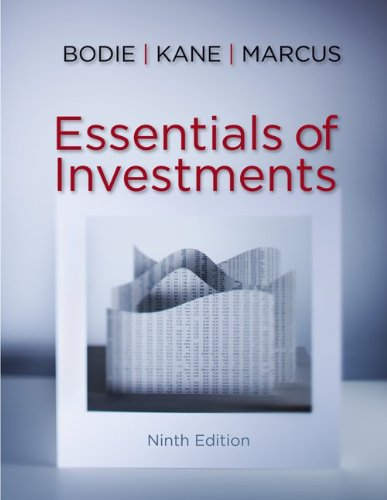 Essentials of Investments  9th 2013 9780078034695 Front Cover