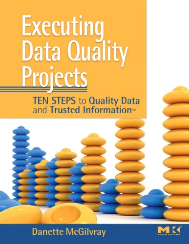 Executing Data Quality Projects Ten Steps to Quality Data and Trusted Information  2008 edition cover