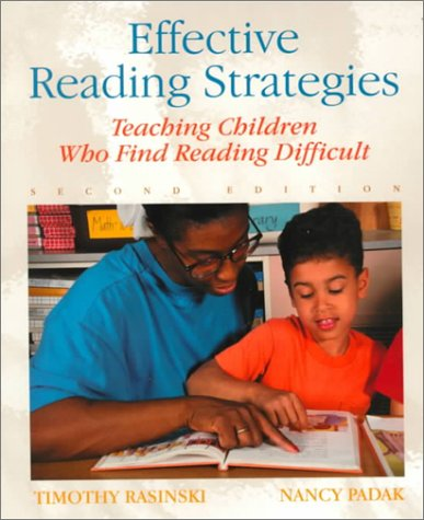 Effective Reading Strategies Teaching Children Who Find Reading Difficult 2nd 2000 9780130996695 Front Cover