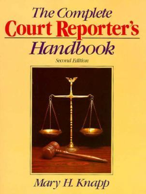 Complete Court Reporter's Handbook 2nd edition cover