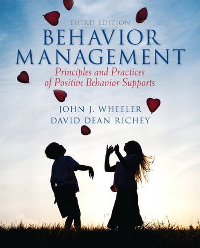 Behavior Management Principles and Practices of Positive Behavior Supports 3rd 2014 edition cover