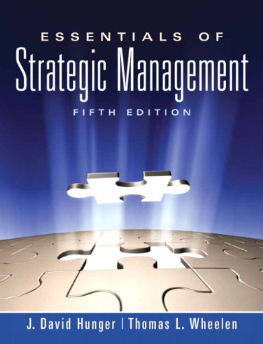 Essentials of Strategic Management  5th 2011 (Revised) edition cover